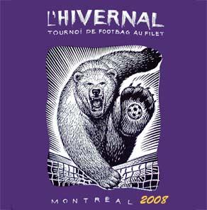 L'Ours symbole de L'Hivernal de Montréal