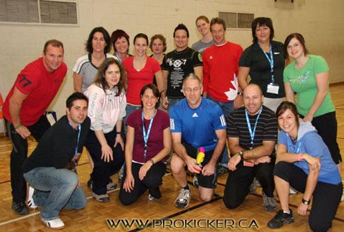 Enseignants qui ont participé à mon atelier au congrès Bougeons ensemble 2010